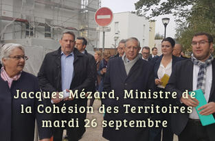 Déplacement officiel de M. Jacques Mézard