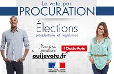 Vote par procuration Oui je vote