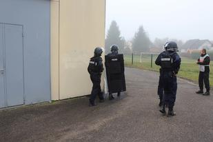 Exercice prise d'otage 2