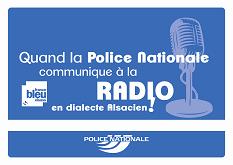 Police communique en alsacien