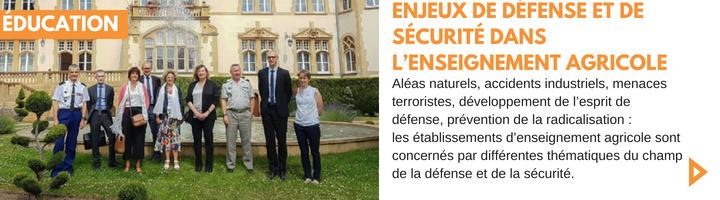 News_27 enjeux de défense et de sécurité dans l'enseignement agricole