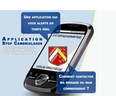 Vignette Application stop cambriolage