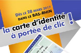 Carte nationale d'identité -  De nouvelles modalités de délivrance à partir du 28 mars